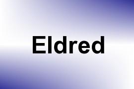 Eldred name image