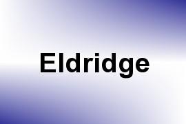 Eldridge name image