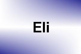 Eli name image