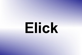 Elick name image