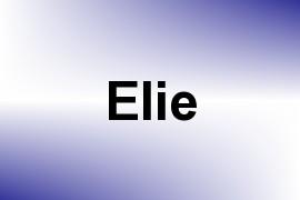 Elie name image