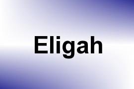 Eligah name image