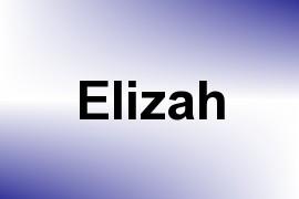 Elizah name image