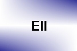 Ell name image