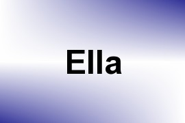 Ella name image