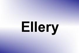 Ellery name image