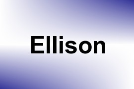 Ellison name image