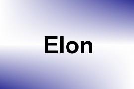 Elon name image