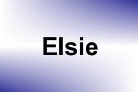 Elsie name image