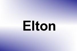 Elton name image