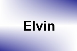Elvin name image