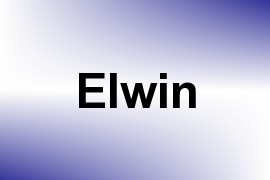 Elwin name image