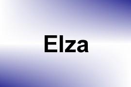 Elza name image