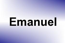 Emanuel name image