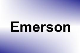 Emerson name image