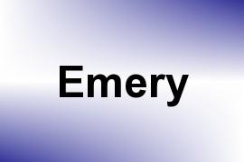 Emery name image