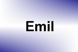 Emil name image