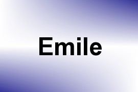 Emile name image