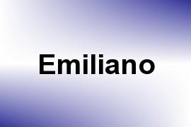 Emiliano name image