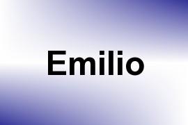 Emilio name image