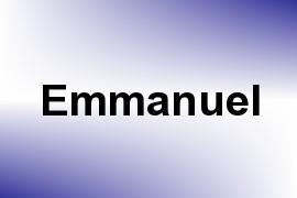Emmanuel name image