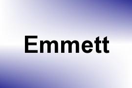 Emmett name image