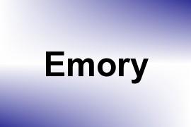 Emory name image