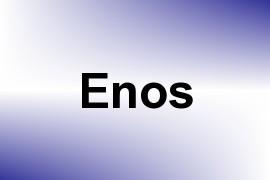 Enos name image