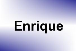 Enrique name image
