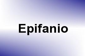 Epifanio name image