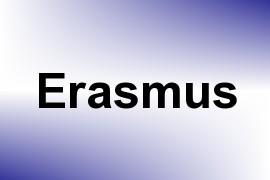 Erasmus name image
