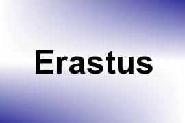 Erastus name image