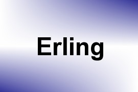 Erling name image