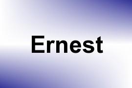Ernest name image