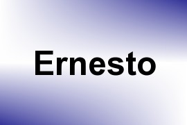 Ernesto name image