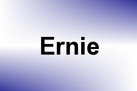 Ernie name image