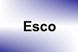 Esco name image