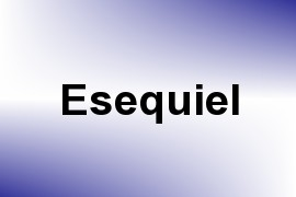 Esequiel name image
