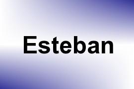 Esteban name image