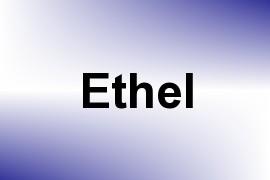 Ethel name image