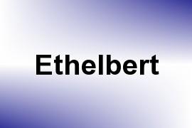 Ethelbert name image