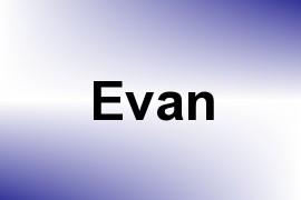 Evan name image