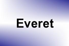 Everet name image