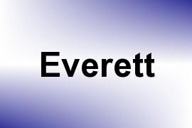 Everett name image
