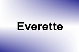 Everette name image