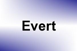 Evert name image