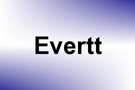 Evertt name image