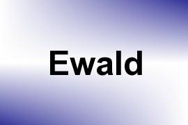 Ewald name image