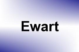Ewart name image