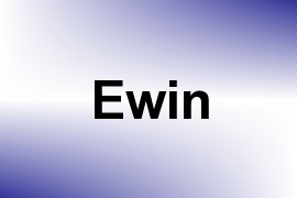 Ewin name image